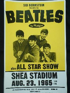 The Beatles Posters Are A Fun Collectible These From Their USA Shows Start Your Poster Collection Rare Concert